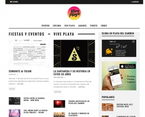 Viva Playa - SEO, wordpress y redes sociales