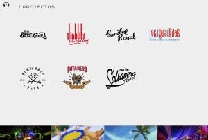 Diseño web para Grupo Santanera playa del carmen