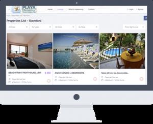 Desarrollo web Playa del Carmen - Playa dreams