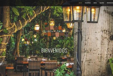 Diseño Web Playa del Carmen restaurante