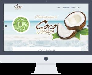 Diseño Web para Coco Bronze - Playa dell Carmen