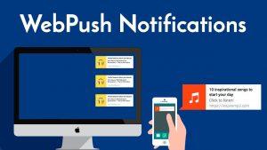 Páginas web playa del carmen notificaciones push