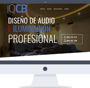 Paginas web playa del carmen CG Medios