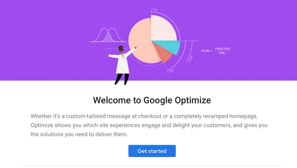 Marketing online - CG Medios - Google Optimize