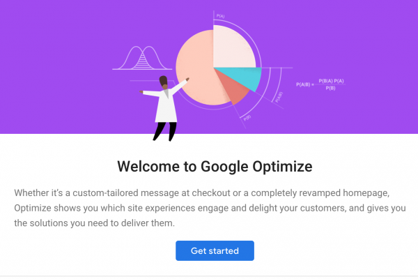 Marketing online - CG Medios - Google Optimize