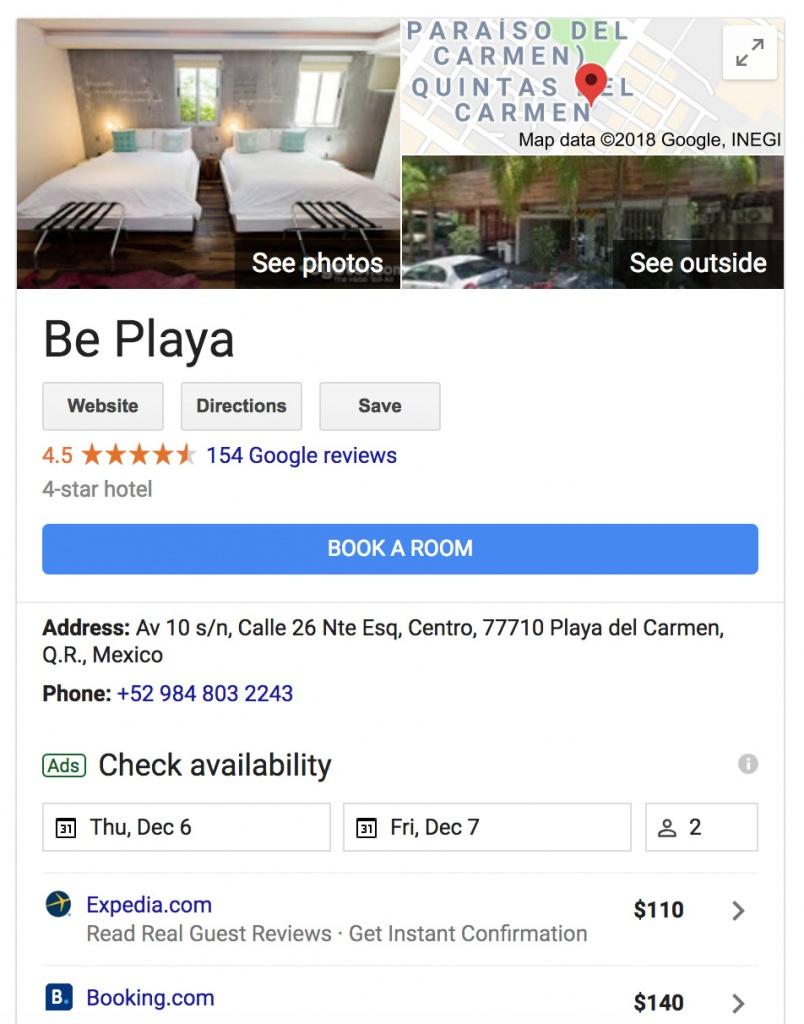 SEO Playa del Carmen Hoteles - CG Medios
